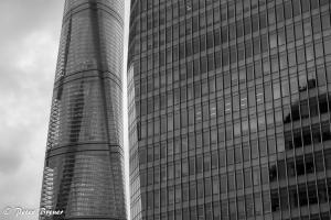 Glass Buildings Shanghai