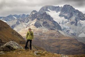 Selbstportrait Zermatt