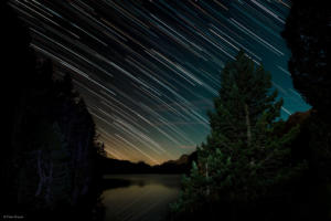 Star Trails from Chaste in Sils