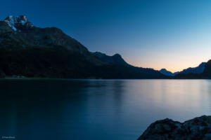 Blue Hour at Silsersee