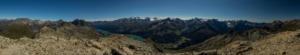 Piz Grevasalvas Panoramic